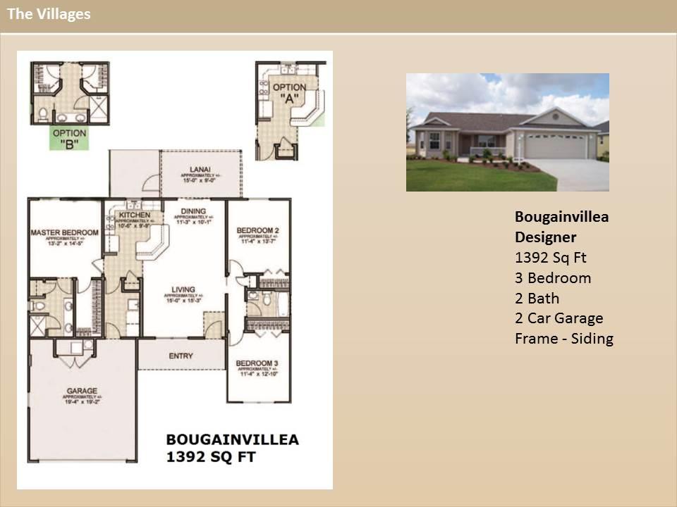 The villages designer home floor plans escortsea for Model homes floor plans