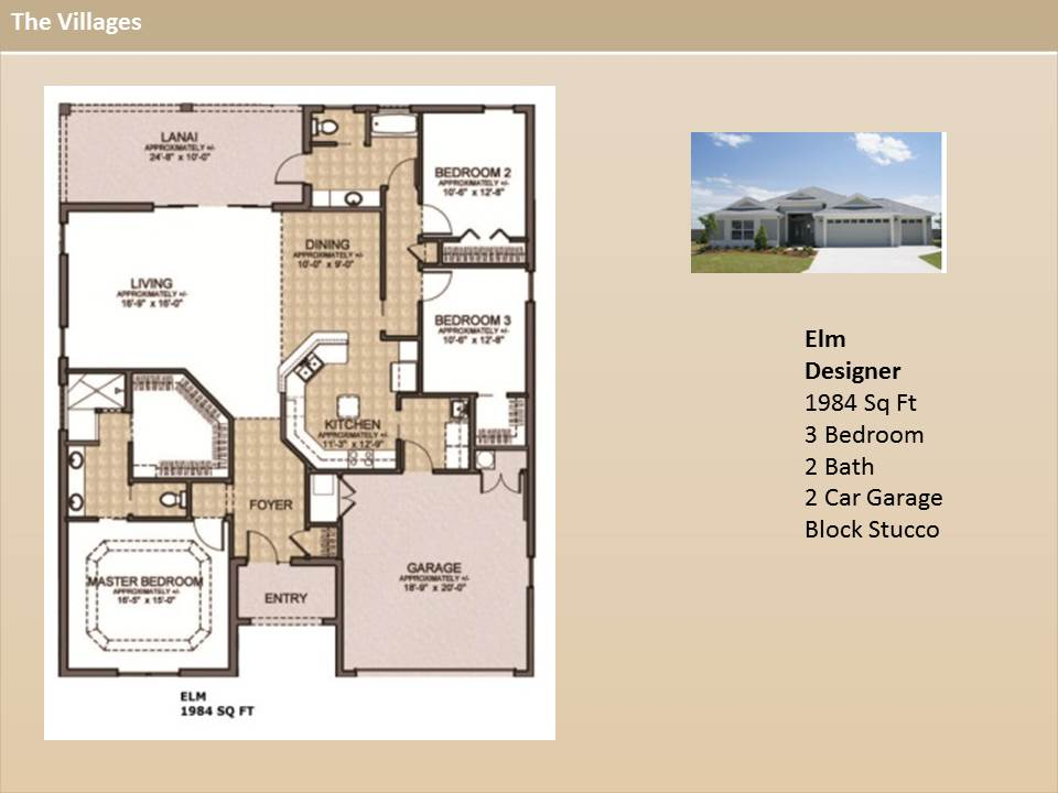 The Villages Homes - Designer Homes Elm Model on the villages real estate, the villages layout, the villages sale by owner, the villages fl, the villages golf carts, the villages retirement community, the villages 4 rent, the villages lantana floor plan, the villages map, the villages tyler texas, the villages foreclosures, the villages 4 sale, the villages florida women, the villages charter school, the villages rental units, the villages amarillo floor plan, the villages logo, the villages florida floor plans, the villages house plans, the villages family neighborhoods,