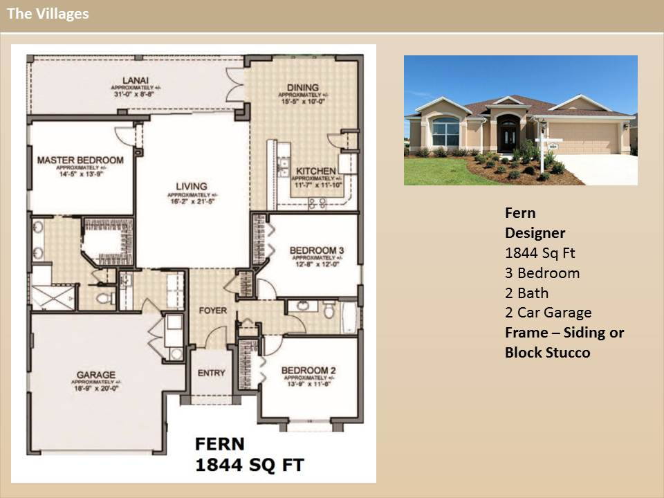 the villages homes designer homes fern model