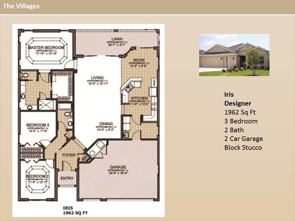 The Villages Florida New Home Floor Plans