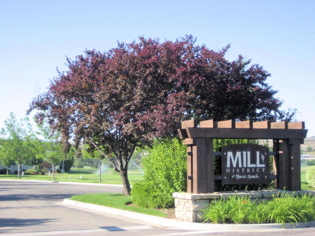 Mill District entrance