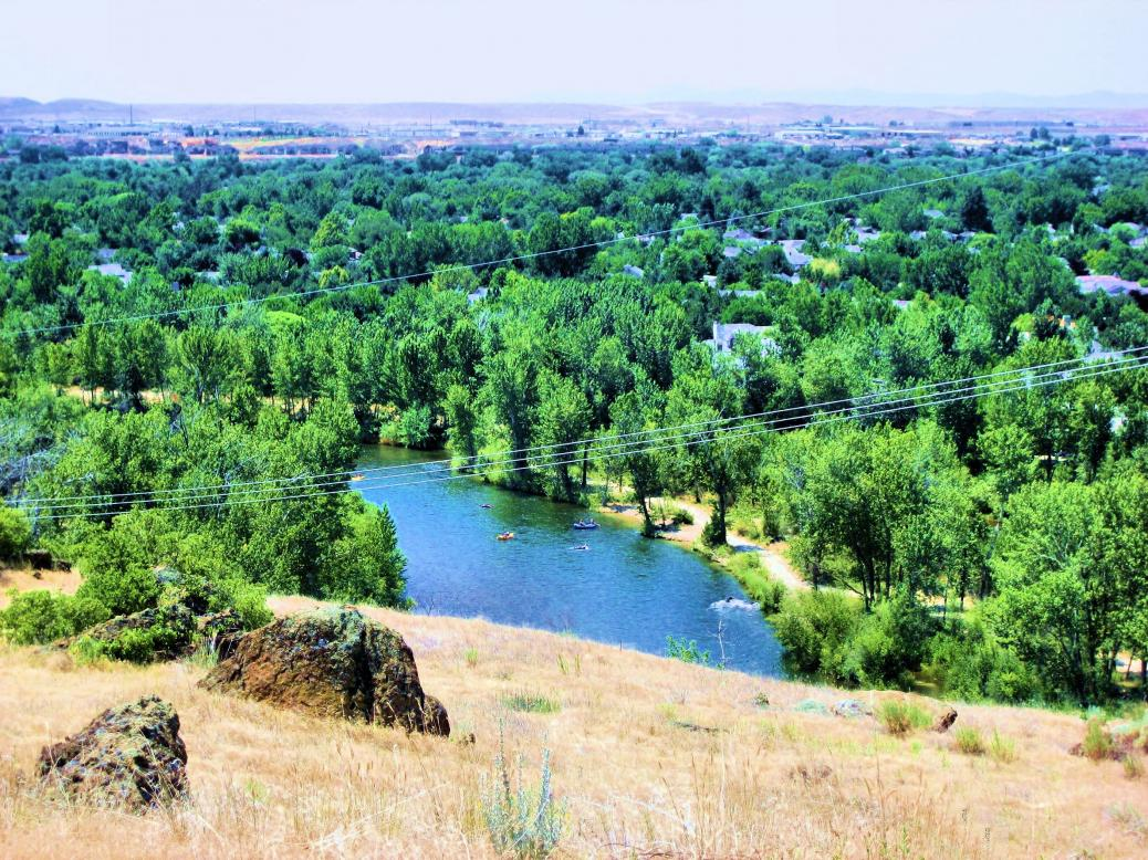 Boise River views