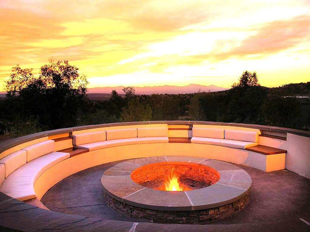 Fireside Sunsets