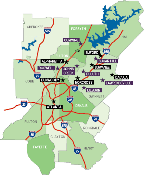 Metro Atlanta Communities - Map of Atlanta's Best Communities on map of eatonton, map of hazlehurst, map of brookneal, map of tucker, map of grovetown, map of pennington, map of o'fallon, map of beltzhoover, map of lawrenceburg, map of north side, map of browns island, map of new carlisle, map of girard, map of carlinville, map of watkinsville, map of fries, map of springfield township, map of little falls, map of west windsor, map of new alexandria,