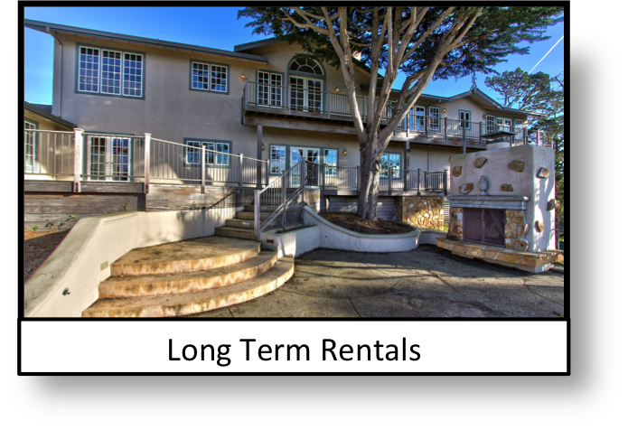 Picture of a long term rental home in Pebble Beach California