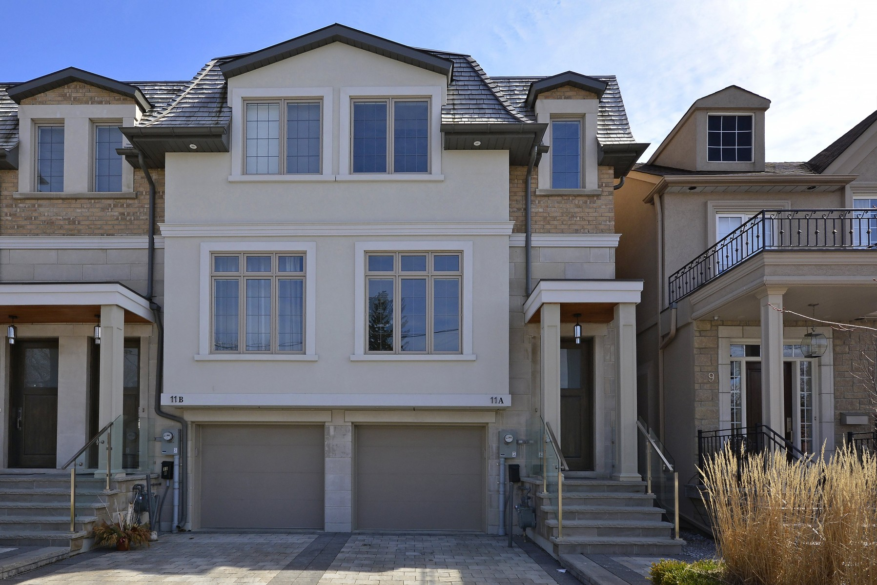 Custom semi in Yonge Lawrence Village