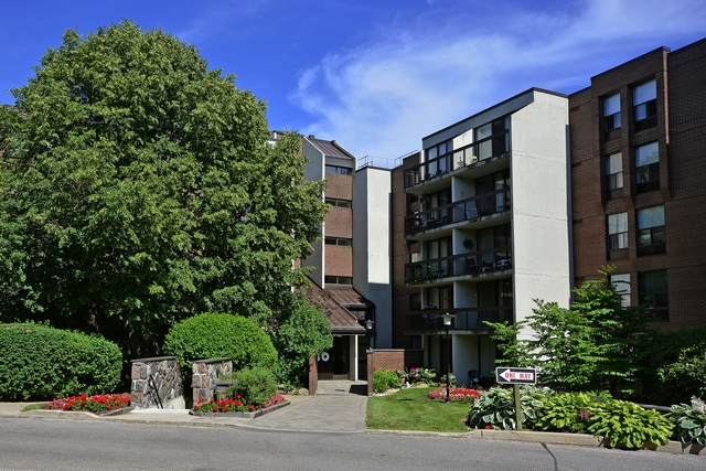 Two bedroom condominium in Bayview Village