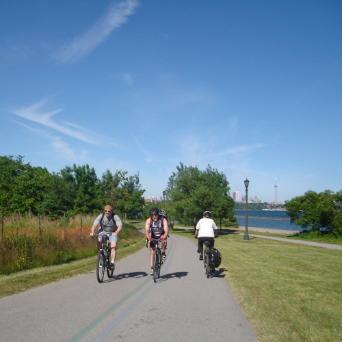 Our favourite Toronto bike trails