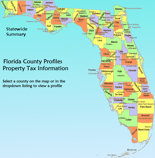 florida county tax rates 2013 choice image