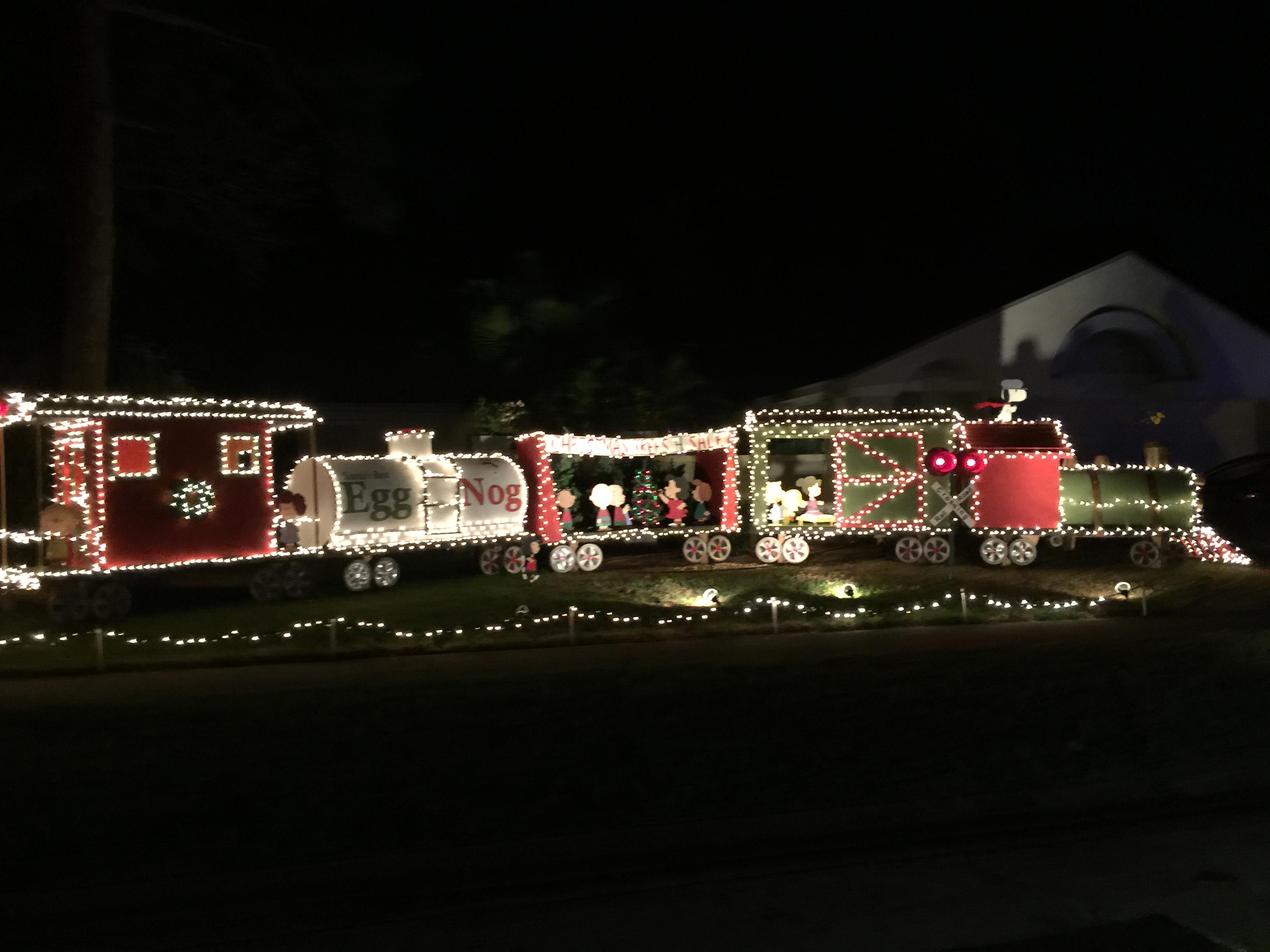 2015 holiday lights train - Christmas Light Train