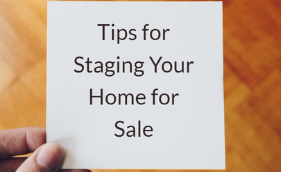 the real estate blog with current information for boston On tips for staging a home for sale