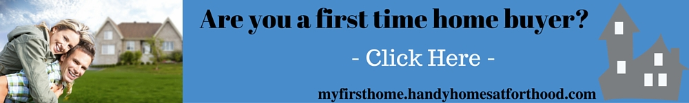 First time home buyer information link