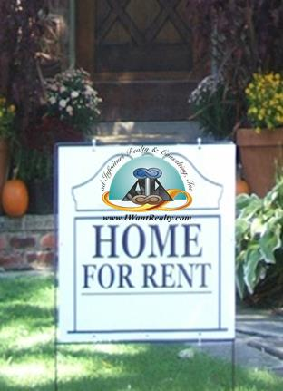 Home for Rent Sign w Adirci Logo