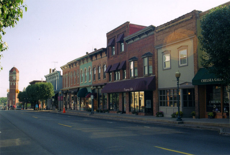 Downtown Chelsea, Michigan