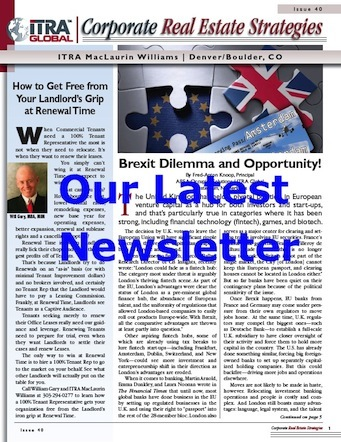 Image of Newsletter's Front Page