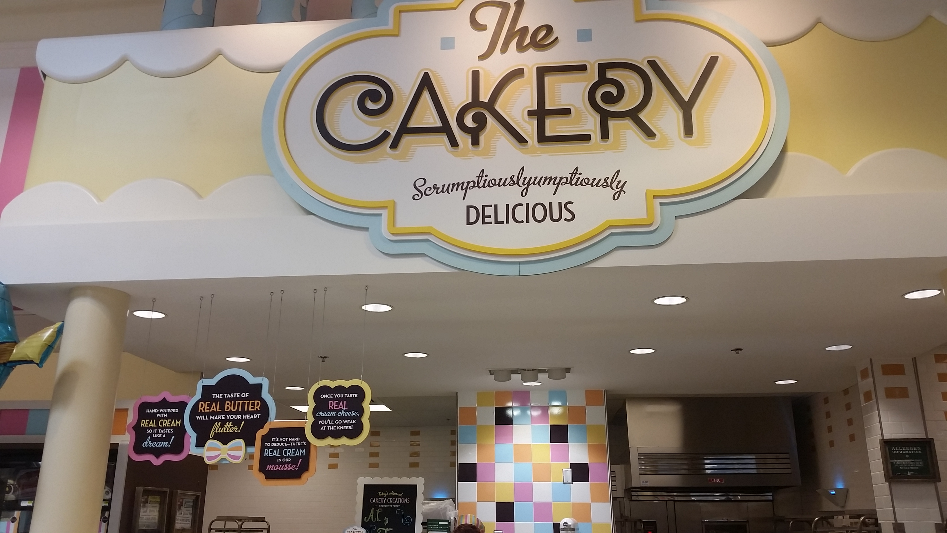 The in store Cakery bake shop