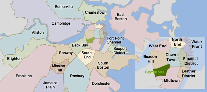 Community Demographic and Lifestyle Information for Boston Roxbury
