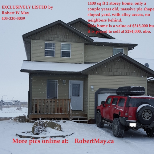New Lethbridge Real Estate Listing
