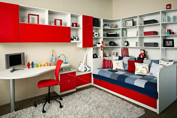 Teen-Bedroom-Storage-Ideas.jpg & Kidsu0027 Rooms: Storage Solutions for Every Age