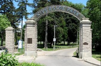 Riverside Park in Preston