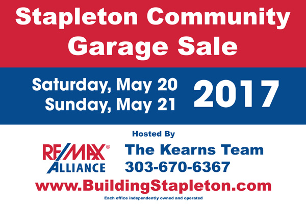 2017 Stapleton Community Garage Sale