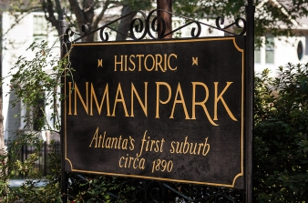 Inman Park Is A Neighborhood On The East Side Of Atlanta Georgia And Its First Planned Suburb It Was Named For Samuel M