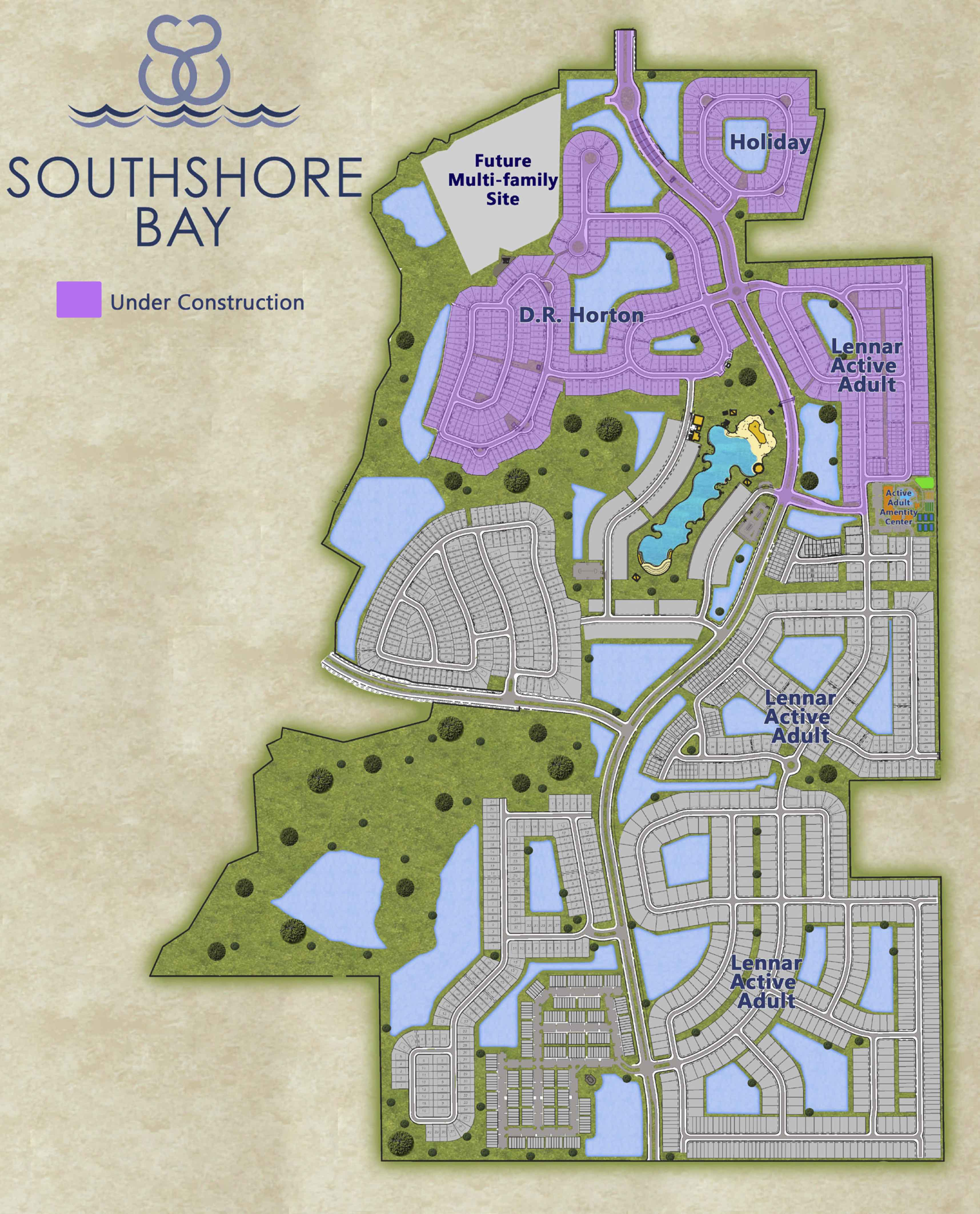 55 Plus Active Adult Communities in Sun City Center Homes