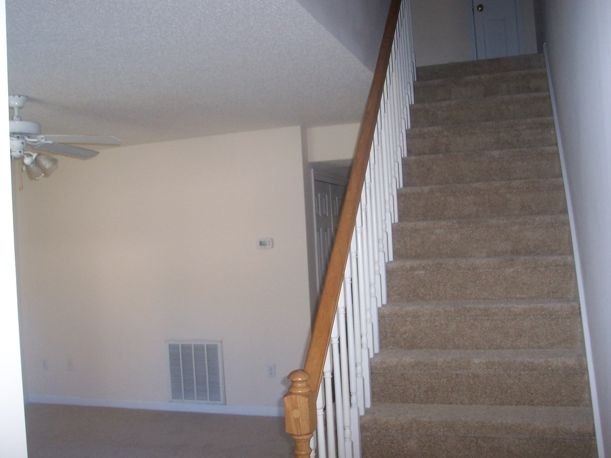 Interior Features: Carpet and Vinyl Floor Covering, Washer/Dryer Hookups/Refrigerator/Range/Dishwasher/Disposal  all Included. Both Bedrooms Upstairs.